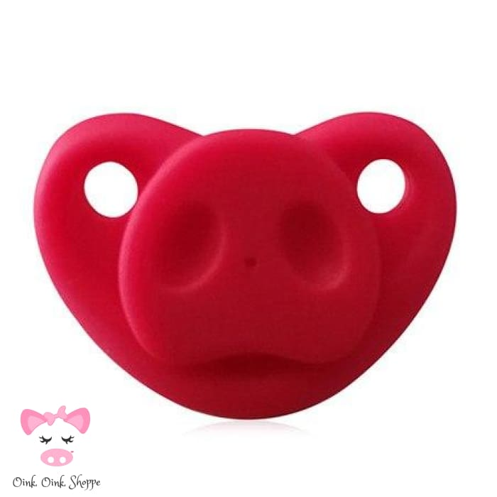 Snouty Pacifier - Red