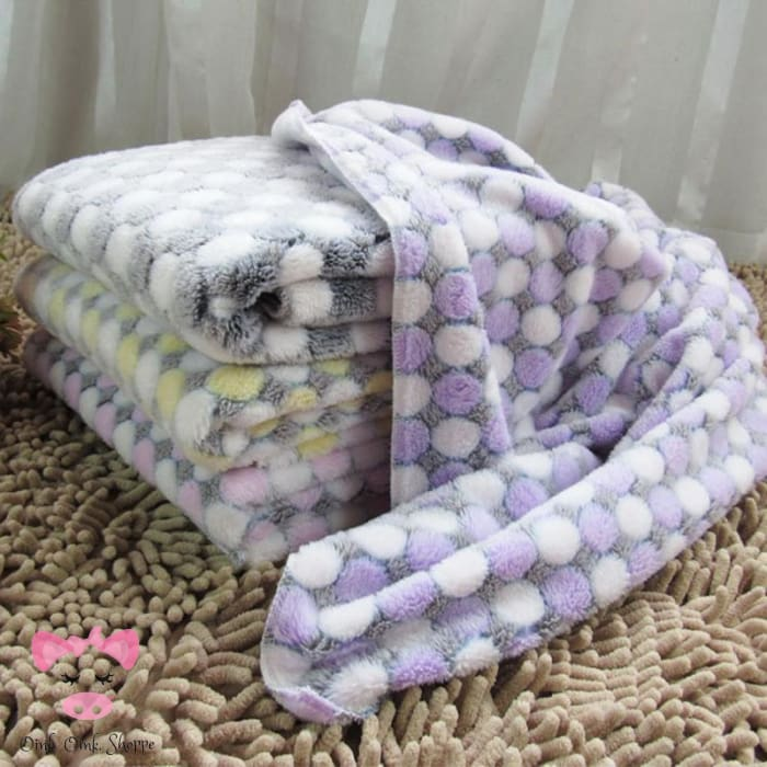 Soft & Cuddly Fleece Piggy Blankie