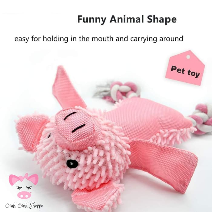 Squeaky Pig Toy