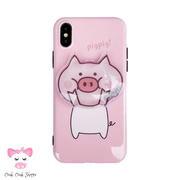 Squishy Pig Phone Case - For iphone XS