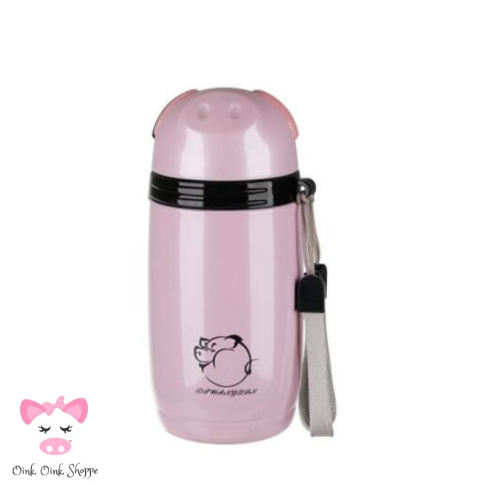 Swanky Swine Stainless Steel Thermo - 280Ml / Pink