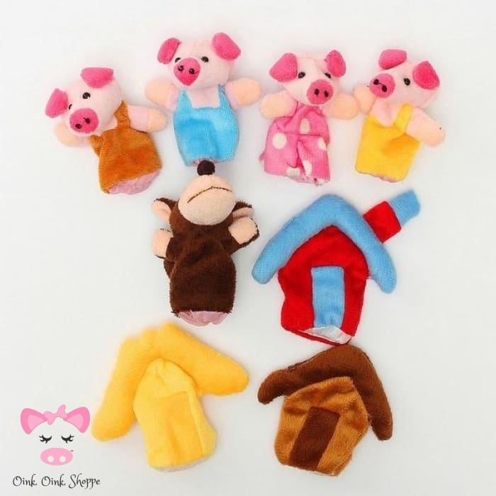 Three Little Pigs Story Finger Puppets