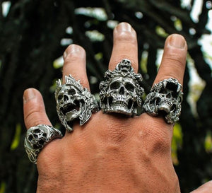 Skull Rings & Bands