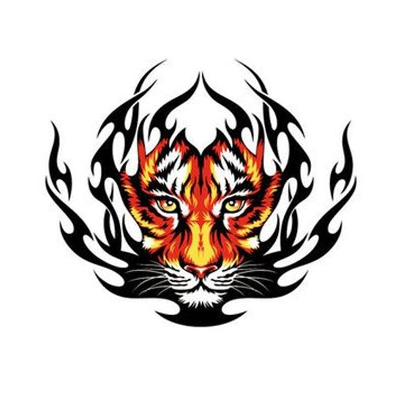 Tiger Flames Decal - Hiplidz.com