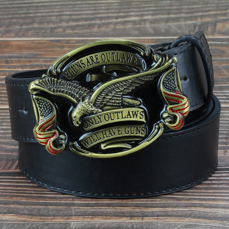Outlaw Belt and Buckle - Hiplidz.com