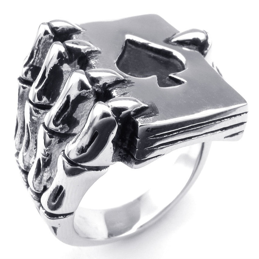 Ace High Claw Ring - Hiplidz.com