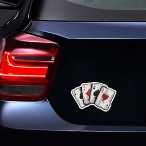 Vintage All Aces Decal - Hiplidz.com