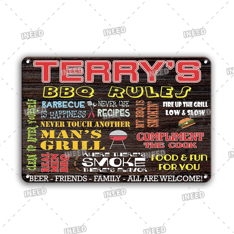 BBQ Zone Signs - Hiplidz.com