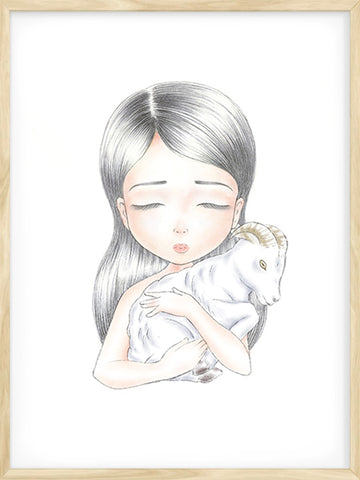 Aries-Zodiac-Illustration-Scandinavian-art-wall-for-kids