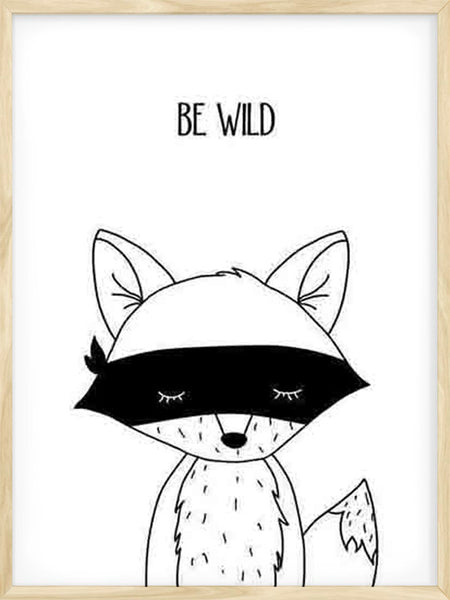 Be Wild Fox - Poster