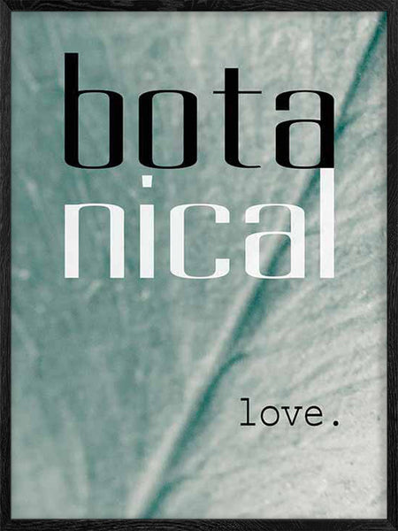Botanical Love - Poster