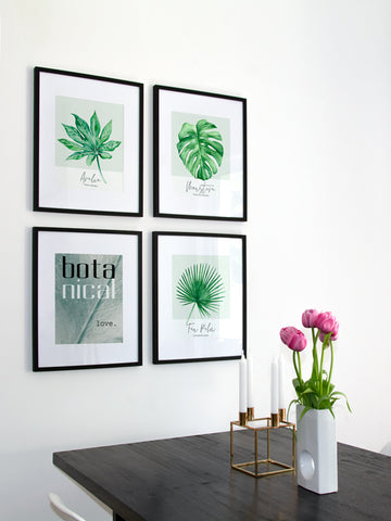 Botanical-Love-Typography-poster