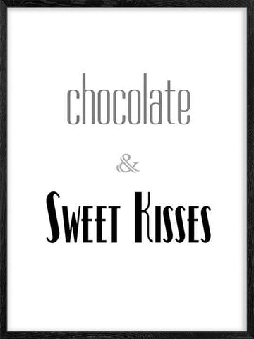 Chocolate-&-Sweet-Kisses-Poster-with-Frame