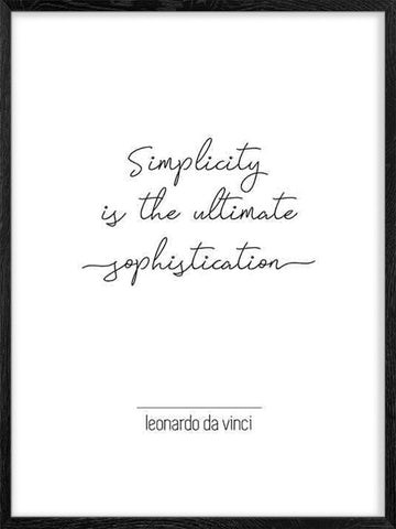 Da-Vinci's-Quote-motivational-poster