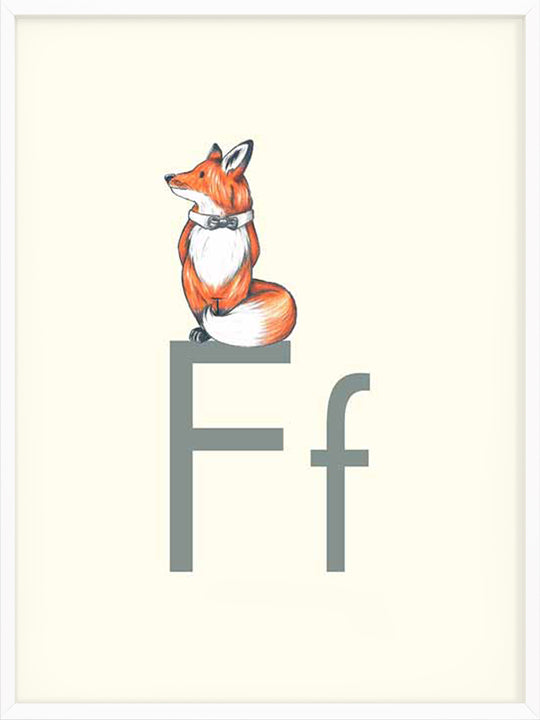 F is for Fox - Poster