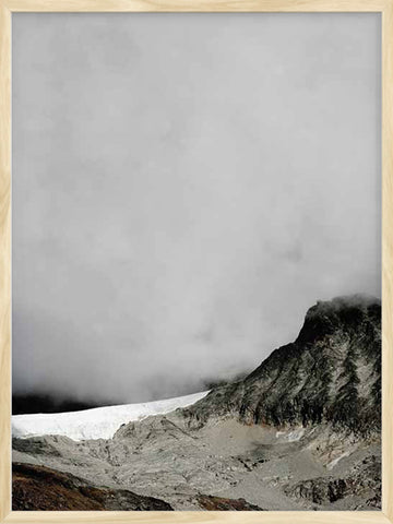 Foggy-Summit-Mount-photo-Poster-with-frame
