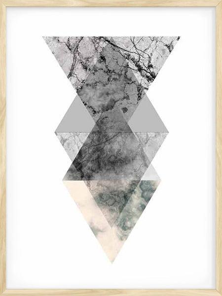 Geometric Shapes 2 - Poster