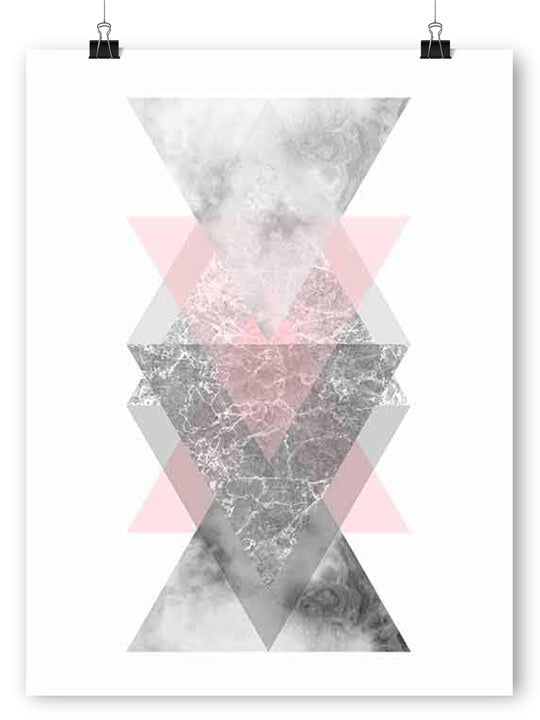 Geometric Shapes 1 - Poster