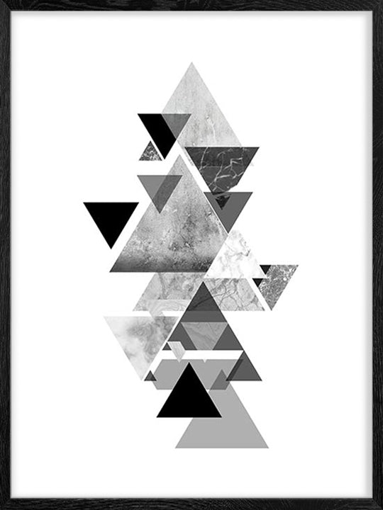 Geometric Shapes 3 - Poster