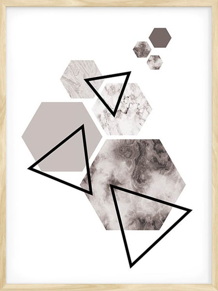 Geometric Shapes 4 - Poster