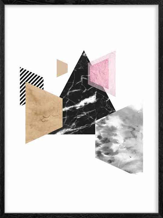 Geometric Shapes 5 - Poster