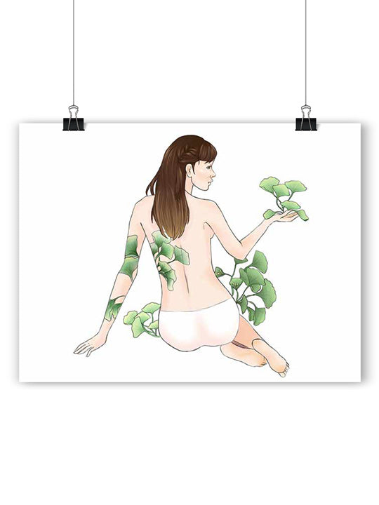 Ginkgo Girl - Poster