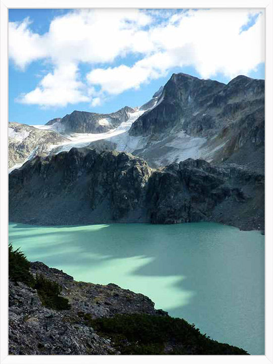 Alpine Glacier in Summer - Poster