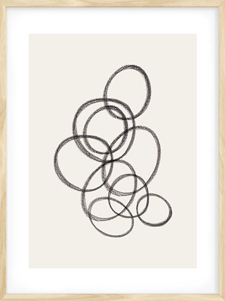 Graphite Curves - Poster