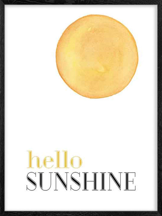 Hello Sunshine - Poster