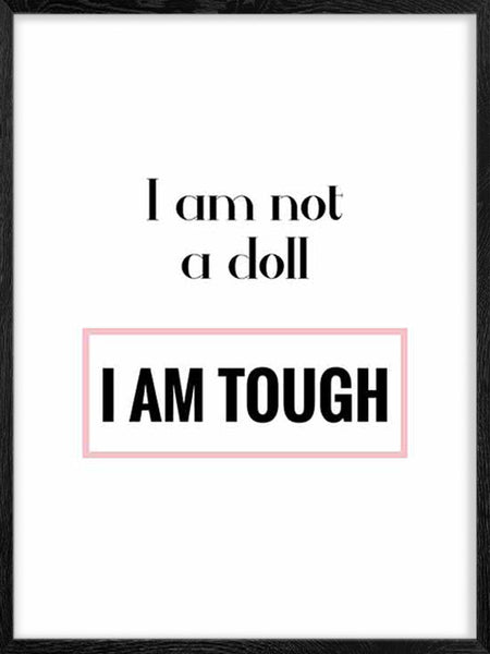 I Am Not A Doll - Poster