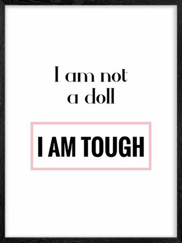 I-am-not-a-Doll-teens-poster-with-frame
