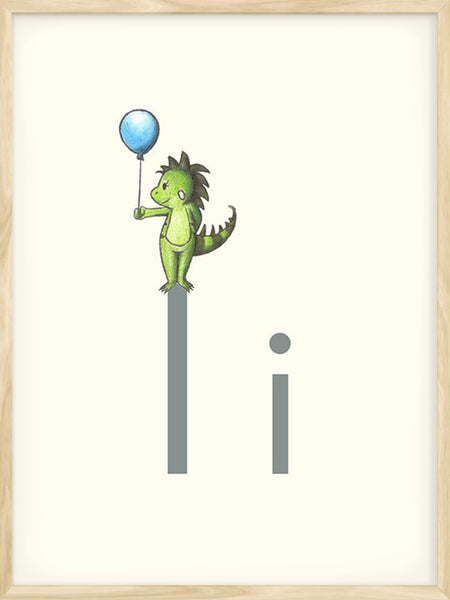 I is for Iguana - Poster