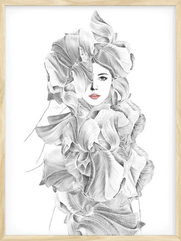 In-Bloom-girl-illustration-scandinavian-print-affiche
