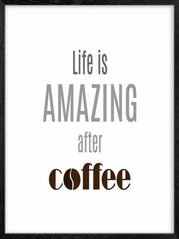 Life is Amazing After-coffee-Poster-for-kitchen-and-office-decor
