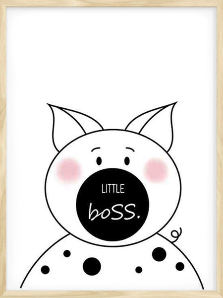 Little Boss - Poster