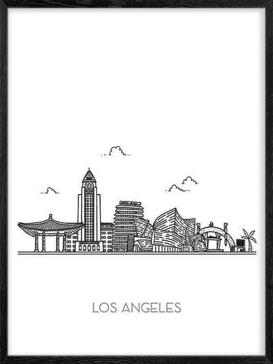 Los Angeles City - Poster