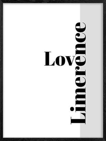 Love-Limerence-typography-scandinavian-poster