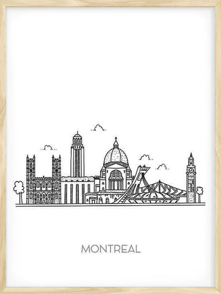 Montreal City - Poster
