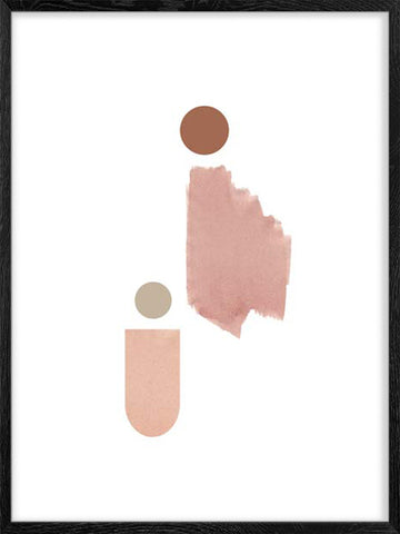 Mother-&-Child-abstract-minimalist-art-poster-Posterwol