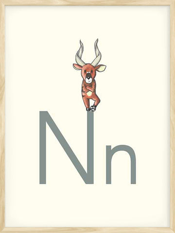 N-is-for-Nyala-educational-poster-for-kids
