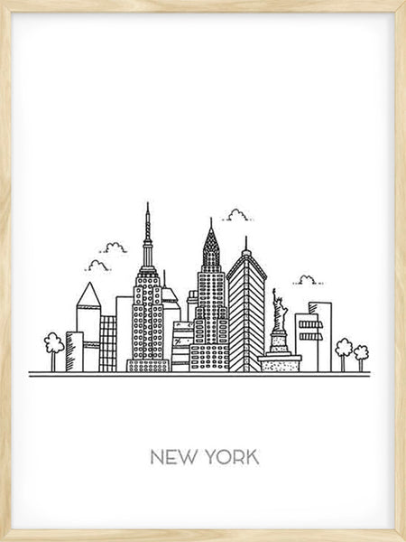 New York City - Poster
