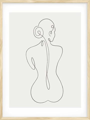 Nude-Line-Art-drawing-abstract-female-poster-Posterwol