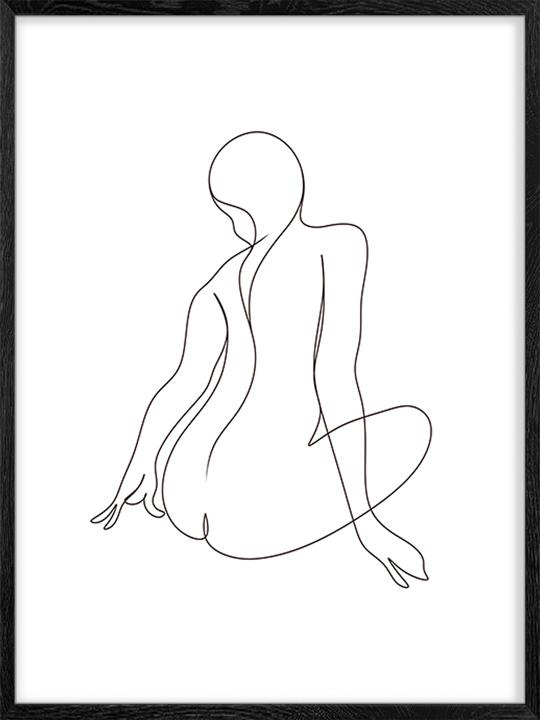 Nude Lines - Poster