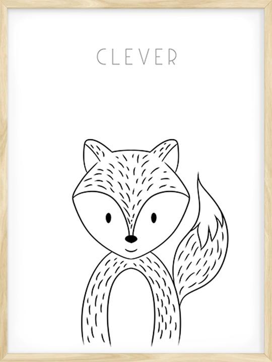 Clever Fox - Poster