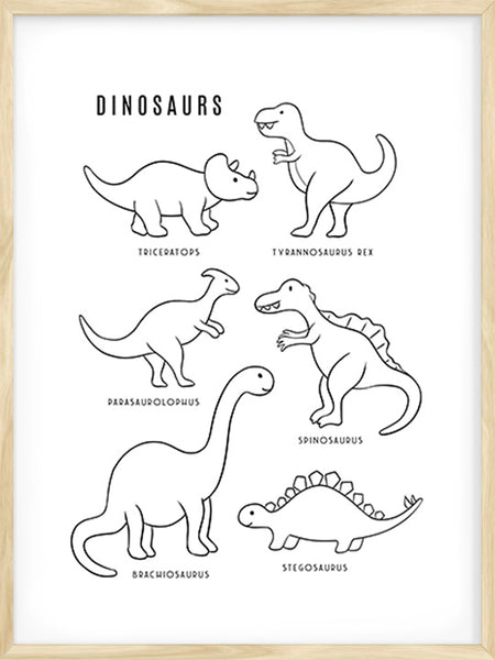 Dinosaurs - Poster