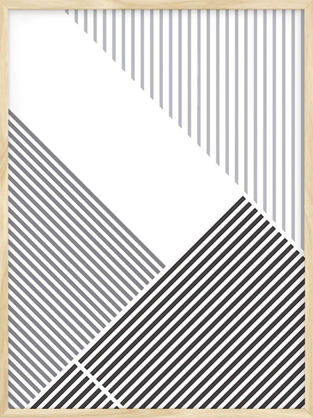 Abstract Lines - Poster