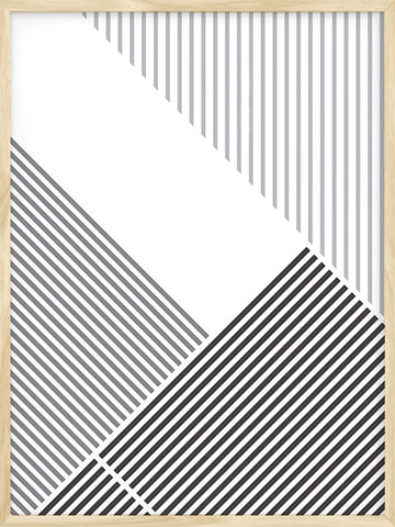 Abstract Lines Poster by Posterwol