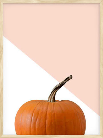 Pumpkin-Poster-with-Frame