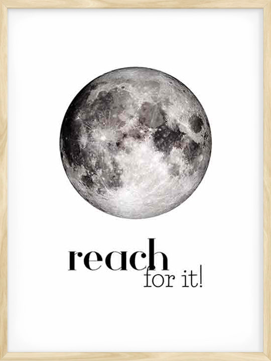 Reach For It- Poster