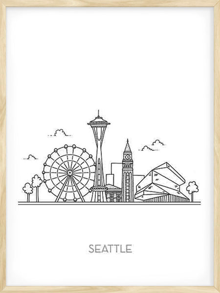 Seattle City - Poster